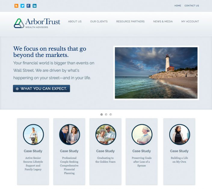 ArborTrust Wealth Advisors homepage