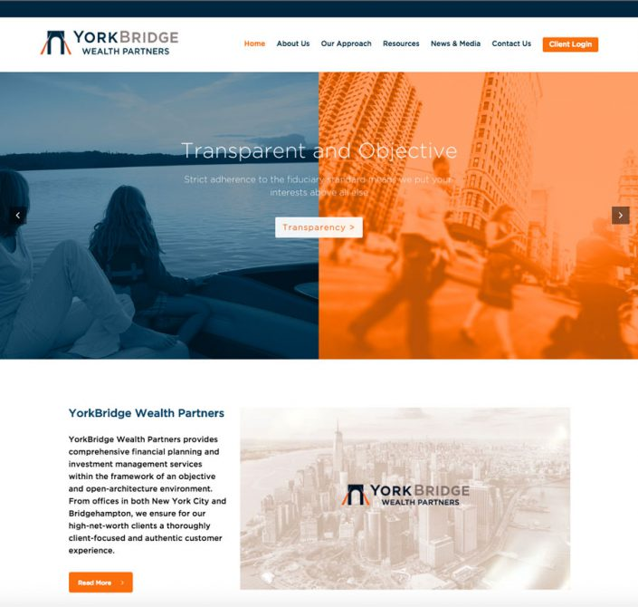 Yorkbridge Wealth homepage